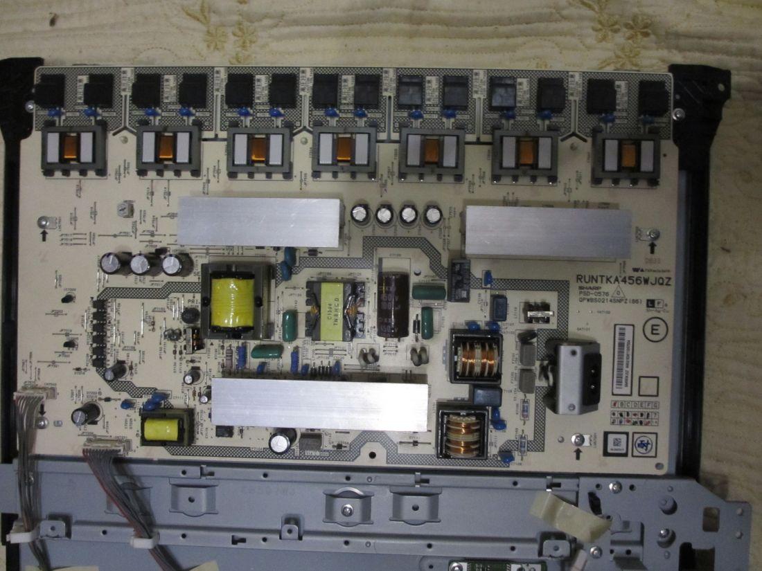 Sharp lc 26d44ru схема